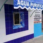 ventana vending de agua